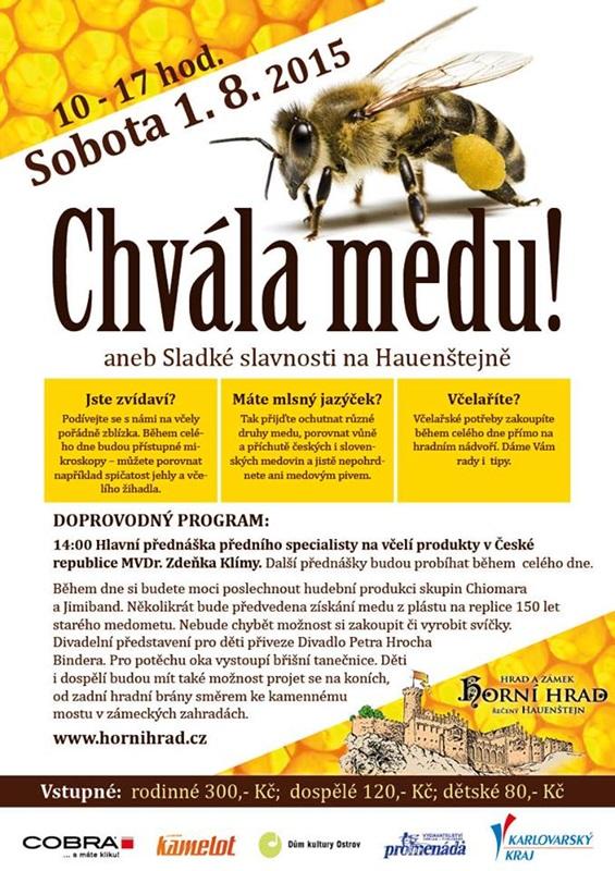 Chvála medu (se stánkem Muzea medoviny)