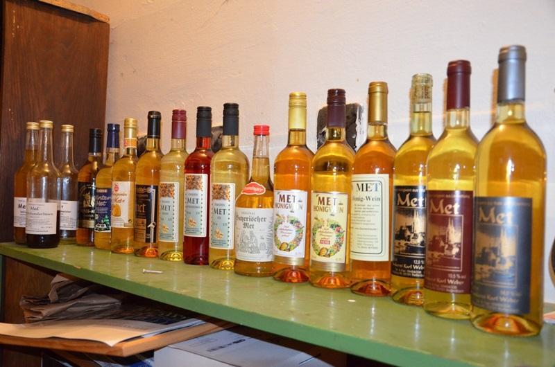 Degustace německých medových vín