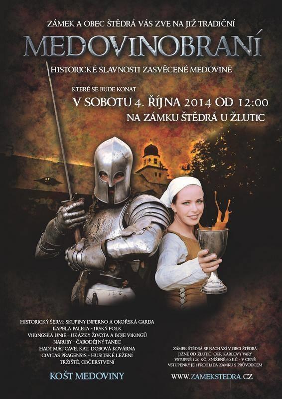 Medovinobraní na zámku Štědrá u Žlutic