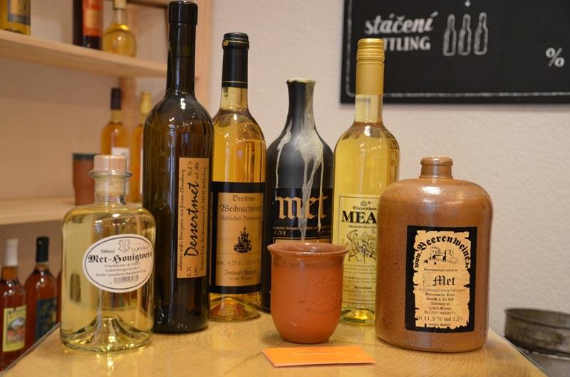 Met - Honigwein - Degustace německých medovin