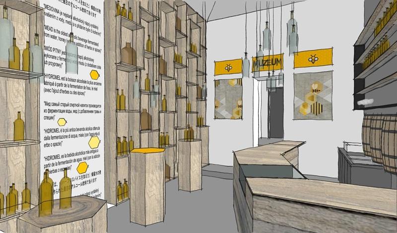 Prohlídka budoucích prostor Muzea medoviny s ochutnávkou zdarma