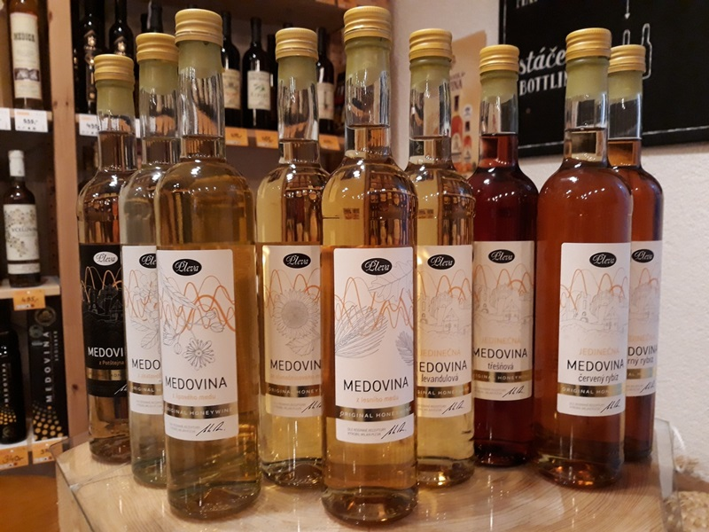 Řízená degustace druhových a jedinečných medovin - výrobce Pleva