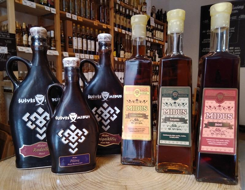 Řízená degustace litevských medovin