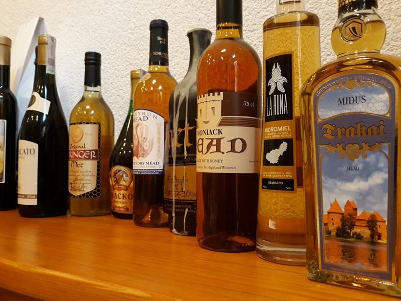 Speciální degustace zahraničních medovin