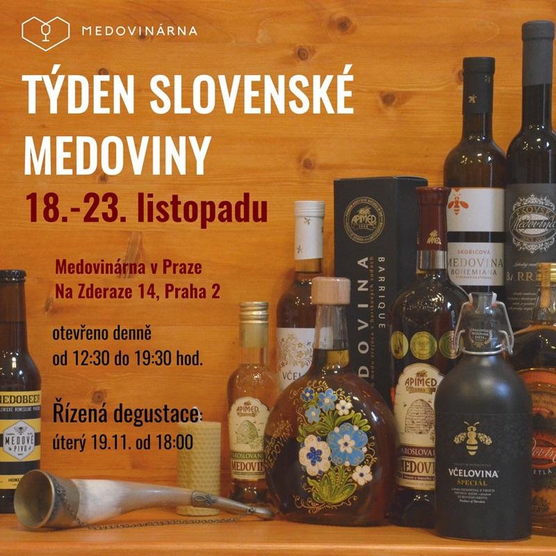 Týden slovenské medoviny