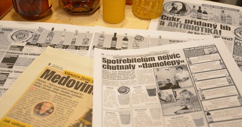 Blesk testoval medoviny - Ve slovenské medovině nalezeny antibiotika. Koupíte ji běžně na vánočních trzích