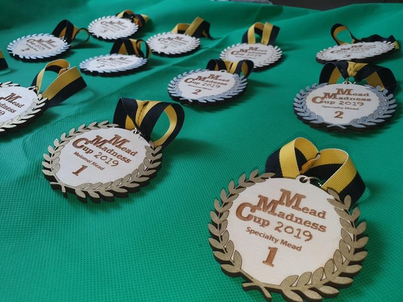 Mezinárodní soutěž medovin - Mead Madness Cup 2019