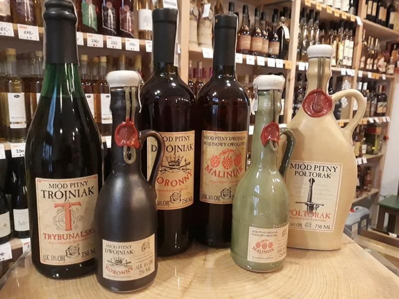 Polské slaďoučké pitné medy (ale předtím úterní inventůra)