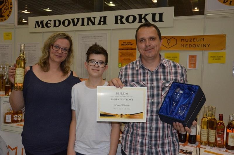 Kompletní výsledky soutěže Medovina roku 2017