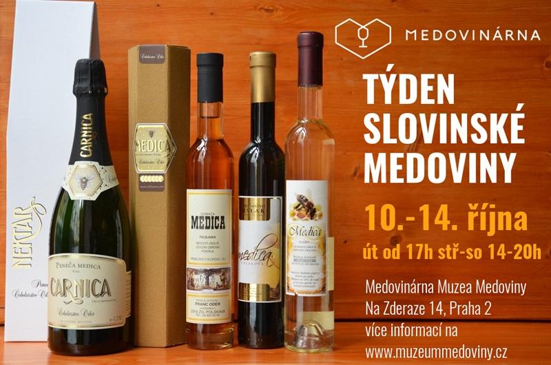 Nejzajímavější degustační akce roku - Týden slovinské medoviny