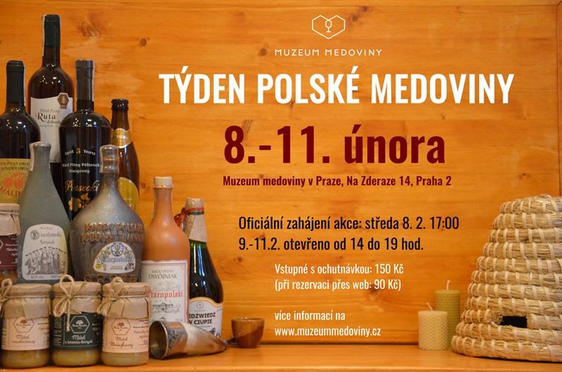 Rezervujte si včas ochutnávku v Týdnu polské medoviny