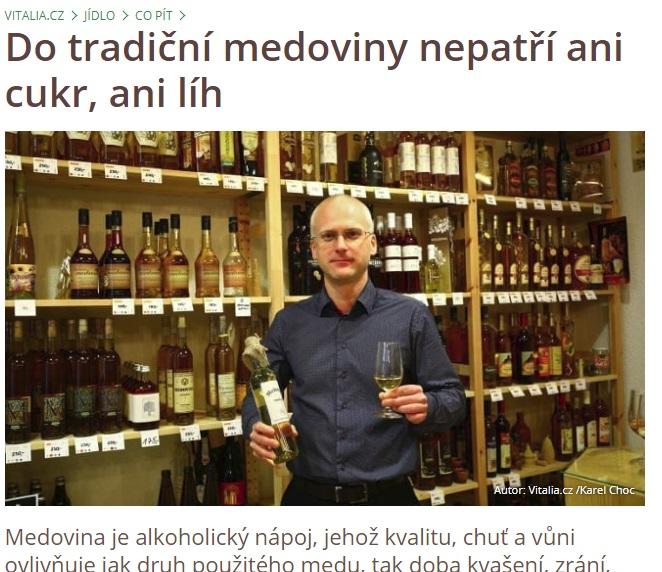 Vitalia.cz - Do tradiční medoviny nepatří ani cukr, ani líh