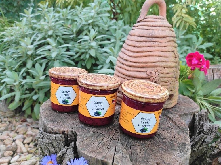 Kurtin s.r.o.: Černý rybíz v medu