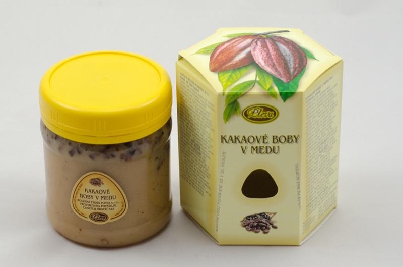 Pleva s.r.o.: Kakaové boby v medu