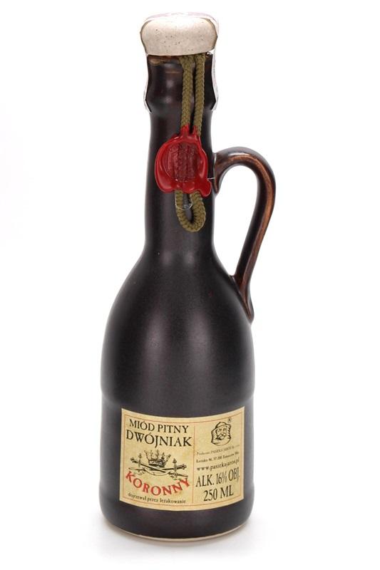 PASIEKA JAROS Sp. z o.o.: Miód pitny Dwójniak - Koronny (ceramic)