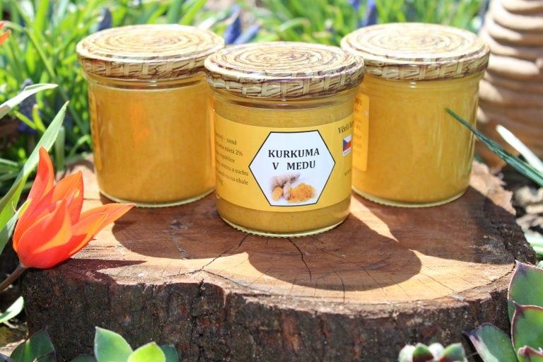 Kurtin s.r.o.: Kurkuma v medu