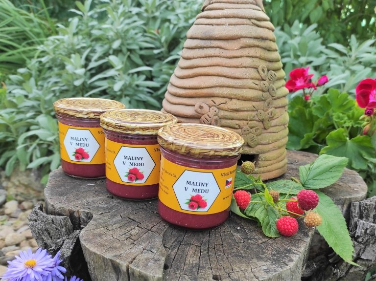 Kurtin s.r.o.: Maliny v medu