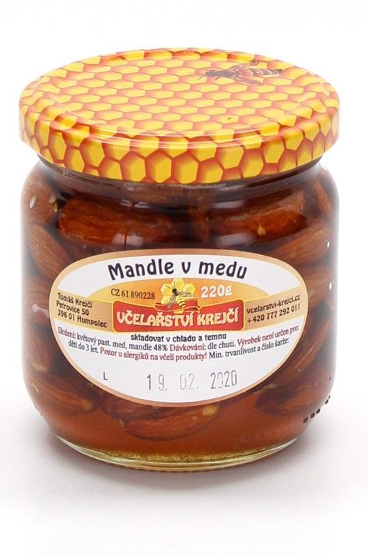 Včelařství Krejčí: Mandle v medu