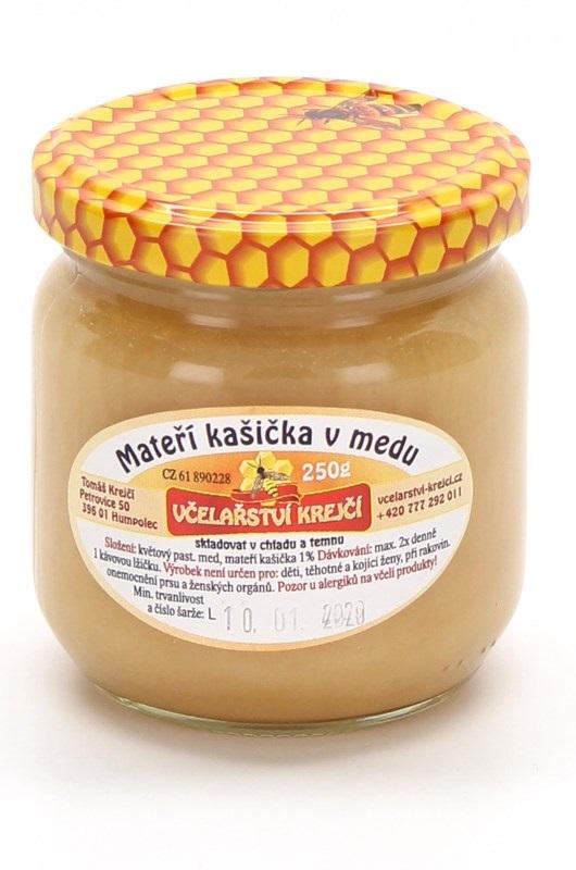 Včelařství Krejčí: Mateří kašička v medu