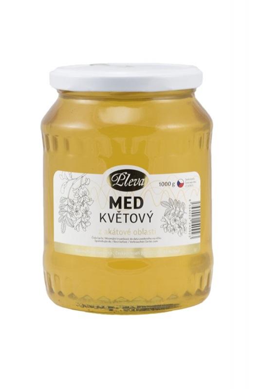 Pleva s.r.o.: Med květový z akátové oblasti