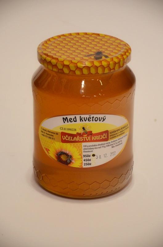 Včelařství Krejčí: Med květový
