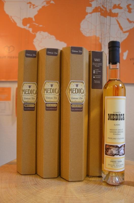 Franc Oder: Medovina z kaštanového medu - polosladká