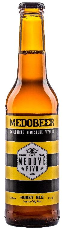 Včelco s.r.o.: Medobeer - Honey Ale 11,5°