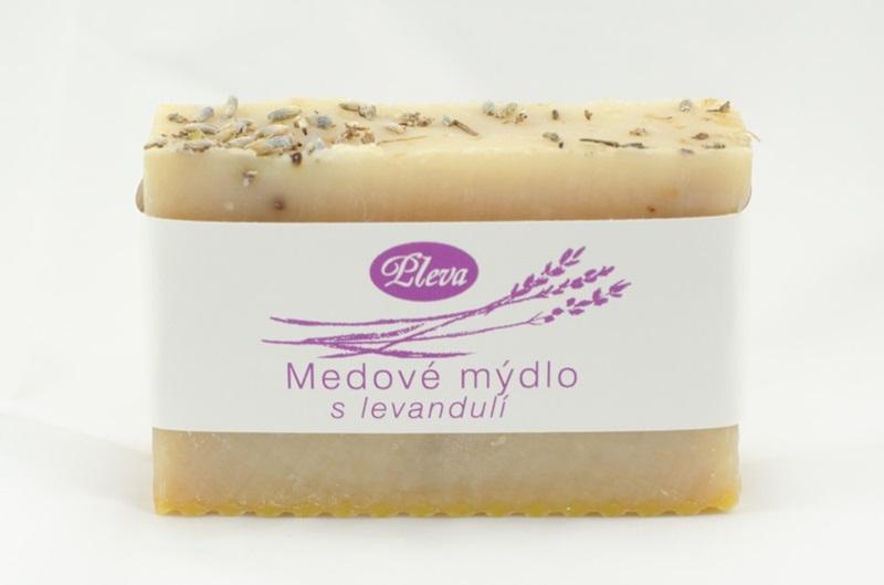 Pleva s.r.o.: Medové mýdlo s levandulí