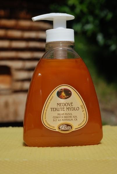 Pleva s.r.o.: Medové tekuté mýdlo na ruce