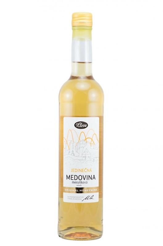 Pleva s.r.o.: Medovina jedinečná - meruňková - mladá