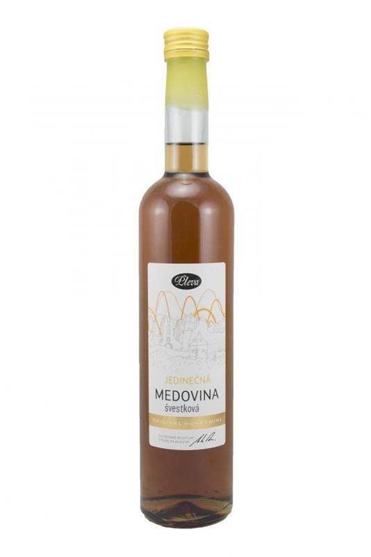 Pleva s.r.o.: Medovina jedinečná - švestková