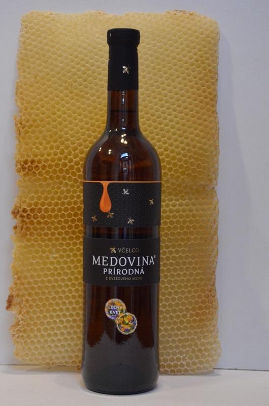 Včelco s.r.o.: Medovina prírodná z kvetového medu - lúčny kvet