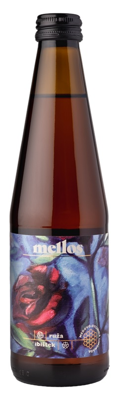 Opre' cidery: Mellos lemonade with hibiscus and roses
