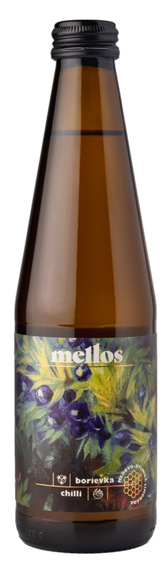 Opre' cidery: Mellos - jalovec + chilli