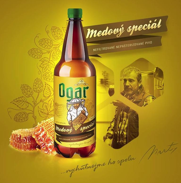 Pivovar Ogar: Ogar  - Medový speciál