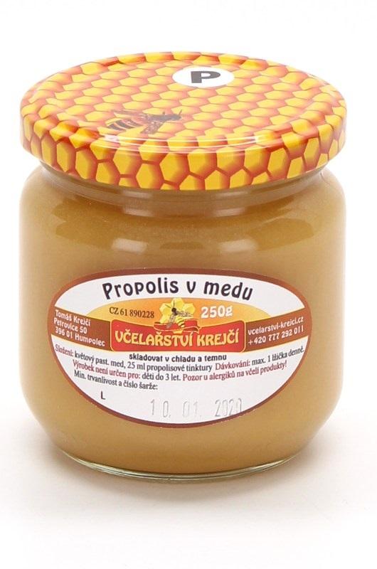 Včelařství Krejčí: Propolis v medu