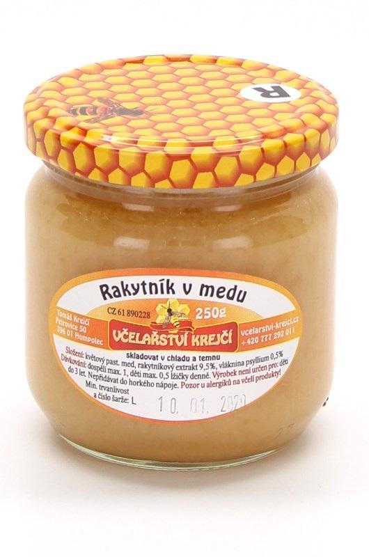Včelařství Krejčí: Rakytník v medu
