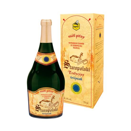 Apis: Staropolski Tradycyjny - Miód pitny trójniak