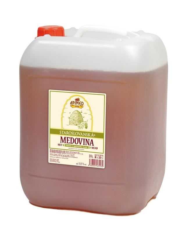 Ing. Peter Kudláč - APIMED: Staroslovanská medovina - světlá z akátového medu