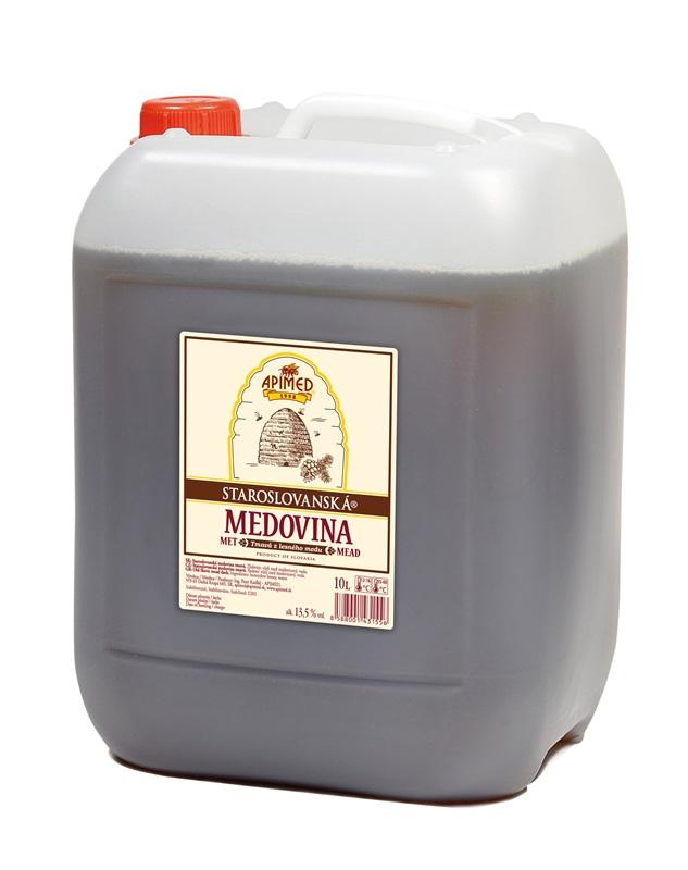 Ing. Peter Kudláč - APIMED: Staroslovanská medovina - tmavá z lesního medu
