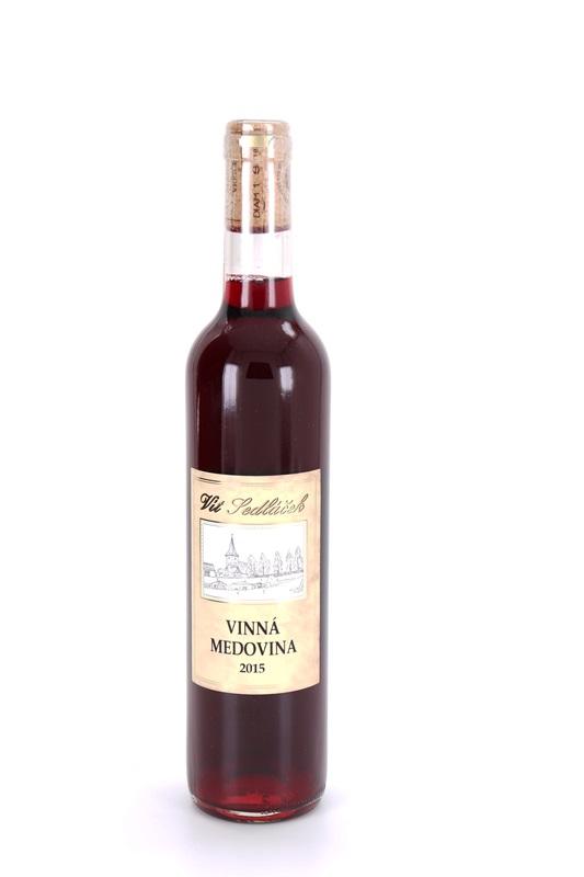 Vít Sedláček: Vinná medovina - červená