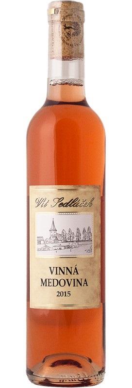 Vít Sedláček: Vinná medovina - růžová 2017-18