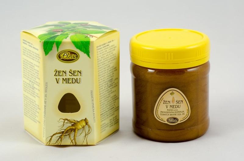 Pleva s.r.o.: Žen šen v medu