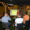 Začátek celá akce - prezentace na téma medovina a její historie. Účastníci mohli načerpat mnoho užitečných informací.